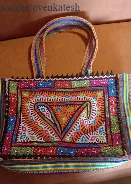 Hand-crafted bag